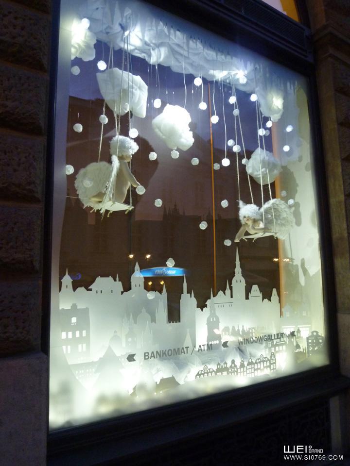 圣诞节橱窗设计 - 东莞市维度企业形象策划有限公司
