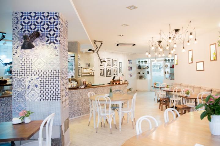 tartela面包和咖啡馆室内设计